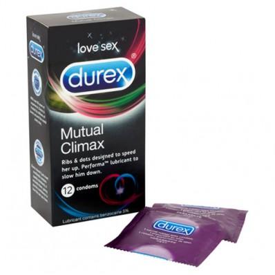 Durex Mutual Climax 12 Pack prezervative