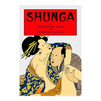 Cartea de colorat Adult Shunga