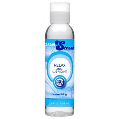 Clean Stream Relax Desensibilizant Anal Lube 4 oz